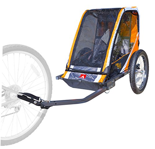 Allen Sports 1-Child Steel Bicycle Trailer- Orange by Allen Sports