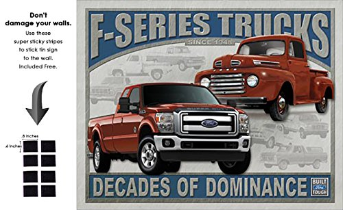 Shop72 - Tin Sign Ford - F-Series Trucks Vintage Tin Sign Retro Metal Sign