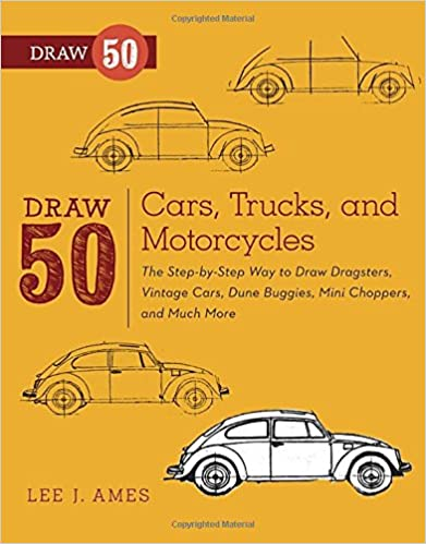 Book Draw 50 Cars, Trucks, and Motorcycles