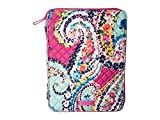 Vera Bradley Iconic Tablet Tamer Organizer, Signature Cotton, Wildflower Paisley