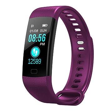 Montre Connectée Moniteur de Sport Montre Cardiofrequencemetre Poignet Bracelet Connecté Montre Bluetooth Smart Watch Activité Tracker