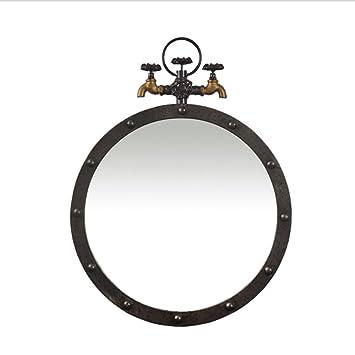 Miroir de salle de bain de style industriel rétro américain ...