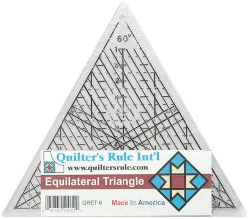 (Quilter's Rule Mini Equilateral 7-3/4