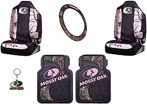 Amazon.com: Mossy Oak Infinity Pink Camo Car Truck SUV