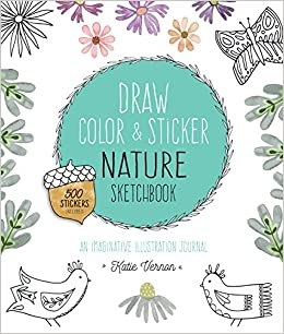 Pictures of nature to draw with color