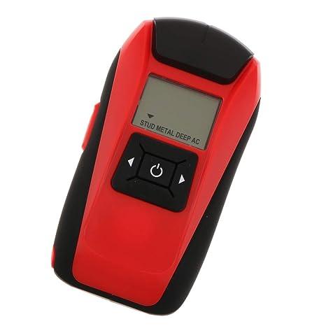 B Blesiya Detector Multifuncional de Mano Lcd Pared Metal Madera Tachuela Equipo de Instalación Electrónica