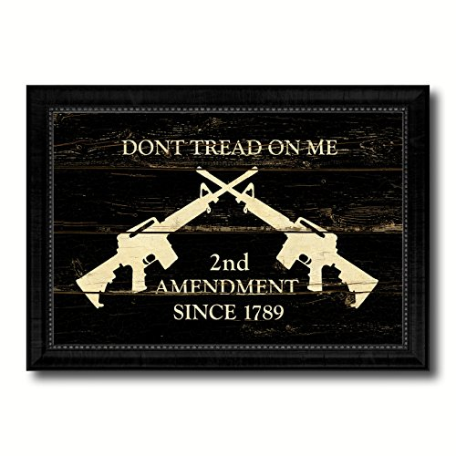 2nd Amendment Dont Tread On Me M4 Rifle Military Vintage Fla