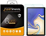 Supershieldz [2-Pack] for Samsung Galaxy Tab S4 (10.5 inch) Screen Protector, [Tempered Glass] Anti-Scratch, Bubble Free, Lifetime Replacement