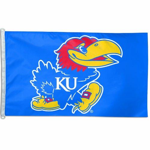 NCAA Kansas Jayhawks 3-by-5 foot Flag