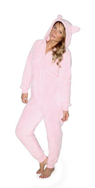 Snuggle de mujer de forro polar Onezee y agradable al tacto pijama para almohadilla de silla
