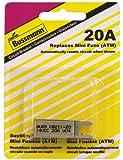 Bussmann (BP/CB211-20-RP) 20 Amp Type-I ATM Mini Circuit Breaker