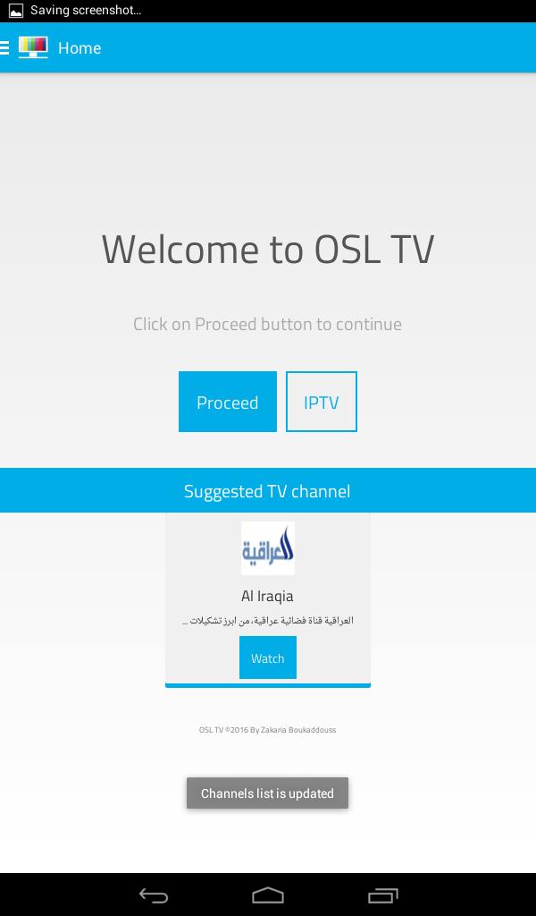 OSL APK TÉLÉCHARGER ANDROID TV