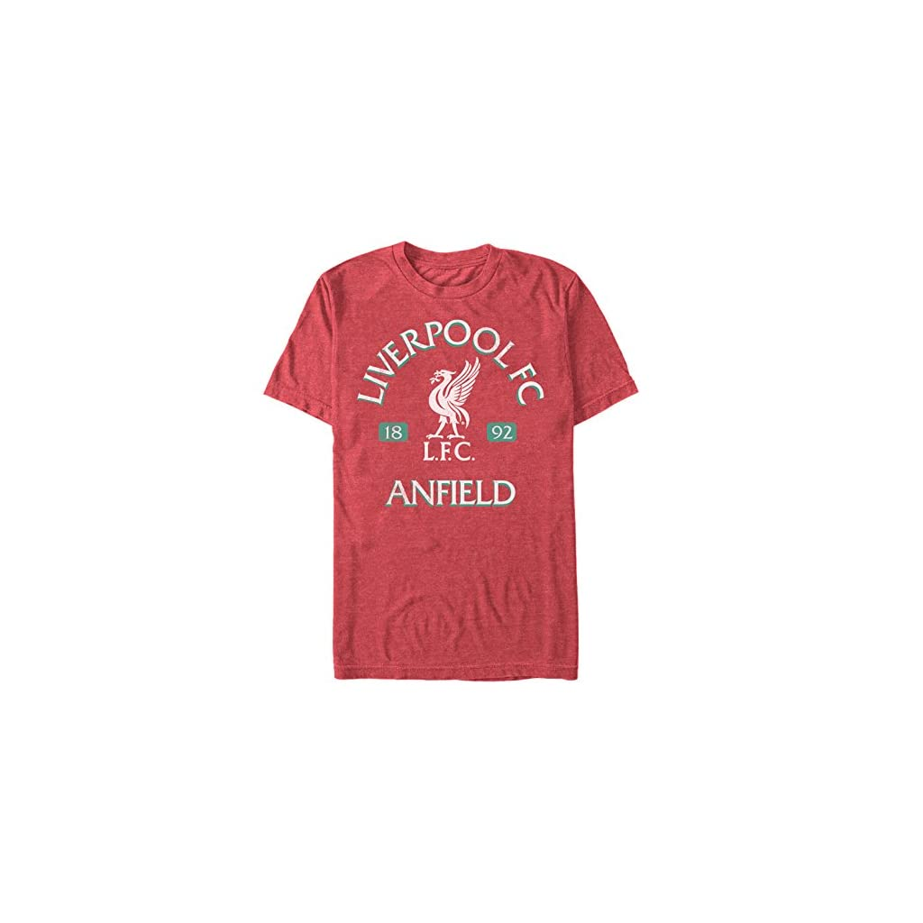 Fifth Sun Official Liverpool Fc Vintage Reds-Premium Men's Tee