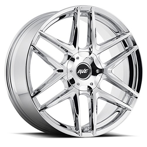 "AVENUE A613 Chrome Wheel  (18x8"", 5x108mm & 5x114mm, 40mm..."