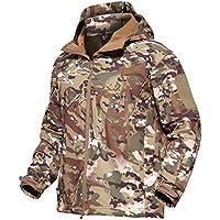 MAGCOMSEN Men's Tactical Army Outdoor Coat Camouflage...