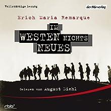 Im Westen nichts Neues Audiobook by Erich Maria Remarque Narrated by August Diehl