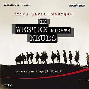 Im Westen nichts Neues Audiobook