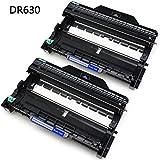 #10: JetSir 2-Pack Brother DR630 DR-630 Drum Unit for Brother TN660 Toner HL-L2300D HL-L2305W HL-L2320D HL-L2340DW HL-L2360DW HL-L2380DW DCP-L2520DW DCP-L2540DW MFC-L2700DW MFC-L2720DW MFC-L2740DW Printer