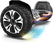 Gyroor Warrior 8.5 inch All Terrain Off Road Hoverboard with Bluetooth Speakers and LED Lights, UL2272 Certifi