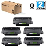 Sirensky Compatible Toner Cartridge Replacement for HP CE390A ( Black )