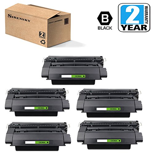Sirensky Compatible Toner Cartridge Replacement for HP CE390A ( Black ) by Sirensky