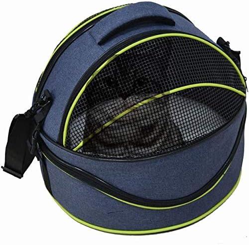B-1 Bolsa Transportadora para Mascotas, Pet Mochila for el Medio Perros Gatos adecuados Bolso Transpirable Viajes de Aventura Ligero Ajustable de Alquiler de Jaula de Transporte Portable