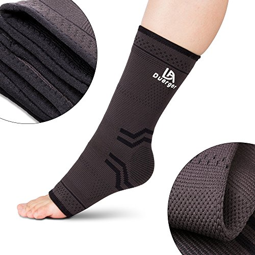 DUERGER Compression Foot Sleeves, Plantar Fasciitis Socks & Elastic Compression Bandage Wrap Set for Men and Women, Anti-Fatigue Medical Sock Sleeve/Heel Arch Support Socks for Cramps Relief by Duerger (Image #3)