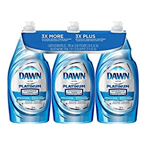 Dawn Dish Soap, Ultra Dishwashing Liquid, Original, 24 Fl. Oz (24 Oz Pack of 3)