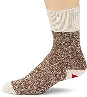Fox River 6851-2-SMALL Kits Original Rockford Red Heel Cotton Monkey Sock (Brown Heather, Small)