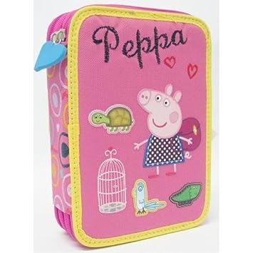 Estuche Peppa Pig: Amazon.es: Oficina y papelería
