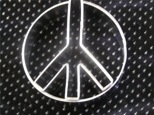 Peace Sign Cookie Cutter Symbol Cake Topper Anti War