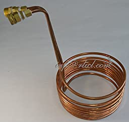 Shipping by express,Copper Coil Cooler Wort Immersion Chiller Beer Brewing Equipment, Homebrewing