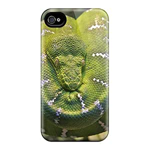 New Style SpaceSubs Emerald Tree Boa Snake Premium Tpu Cover Case For Iphone 5/5s