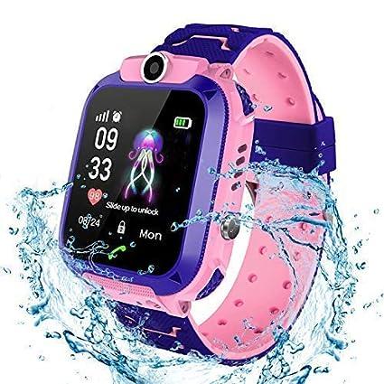 Gskj Niños Smart Watch Phone, La Musica Smartwatch para ...