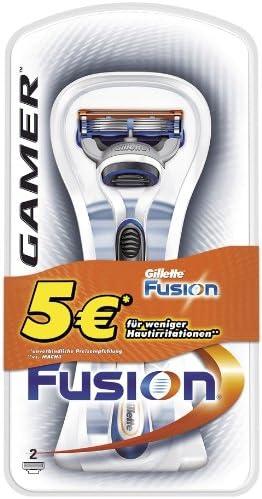 Gillette Fusion manual Afeitado 5 Euro especial Pack con 2 cuchillas: Amazon.es: Salud y cuidado personal