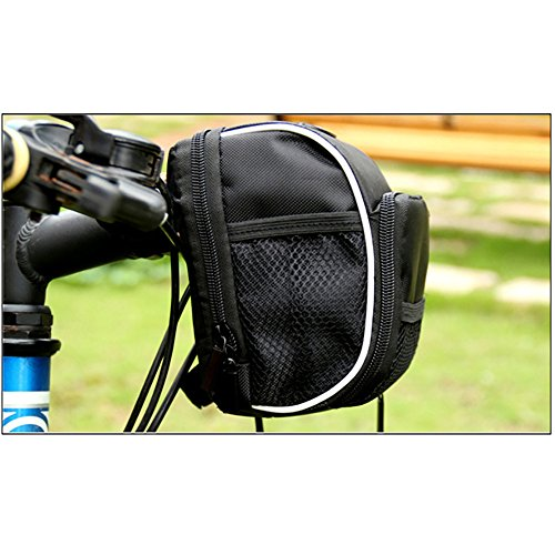vitalite-bike Lenkertasche Fahrrad Front Tasche Mit Regendicht Cover