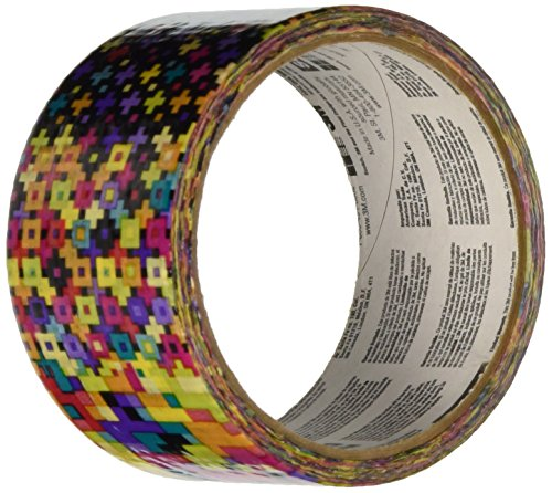 Tape Pattern (Scotch 910-PAC-C  Pattern Crazy Duct Tape,  1.88-Inch by 10-Yard)