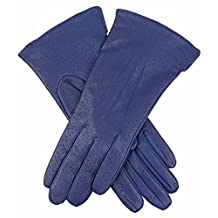 Blueberry Jessica Classic Imipec Leather Gloves by Dents - Small/Medium