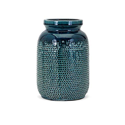 Embossed Blue Dots - CC Home Furnishings 10