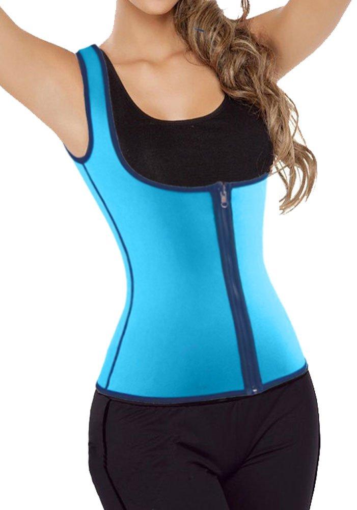 Women Shapewear Weight Loss Neoprene Sauna Tank Top Vest Waist Trainer Cincher