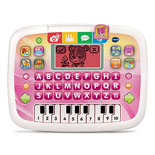 VTech Little Apps Tablet (Frustration Free Packaging), Pink (Best Tablet For 1 Year Old)