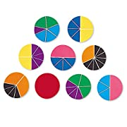 Learning Resources Rainbow Fractions Deluxe Circles with Storage