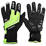LAMEDA Men's Full Finger Cycling Gloves with Gel