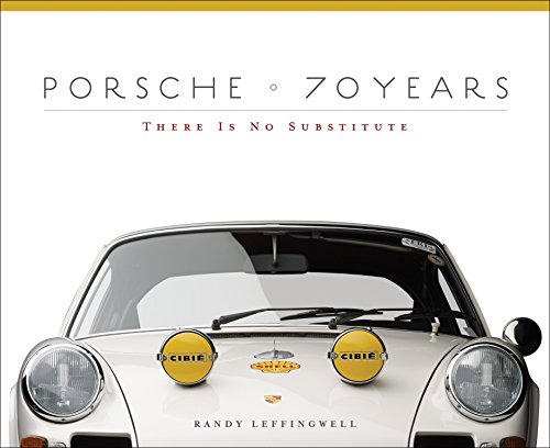 Porsche 70 Years: There Is No Substitute cover