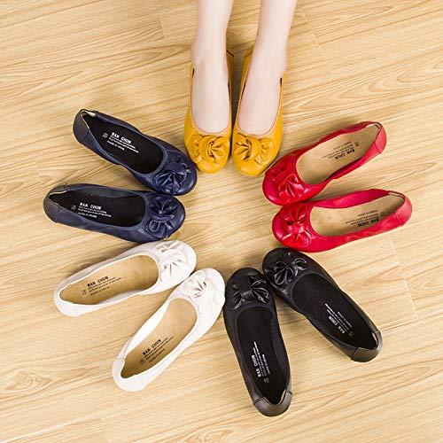 Jaune EU Chaussures coloré Jaune Taille 39 ZHRUI F8q1wxF