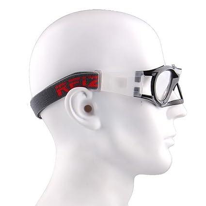 7d2dbfdba5b REIZ S04 Basketball Goggles Soccer Football Sports Eyewear Goggles (Black)