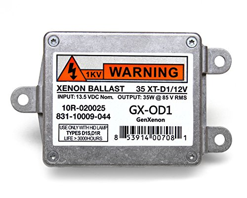Replacement 831-10009-044 Xenon HID Ballast for Lincoln Towncar, Navigator, Chrysler 300M Headlight Control Unit