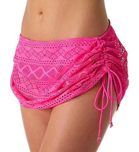 Freya Sundance Skirted Bikini Bottom, L, Hot - Store Sundance Outlet
