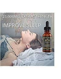 (2 paquetes :: 25.000 mg cada uno) Aceite de cáñamo para alivio del dolor y ansiedad para aliviar el sueño....