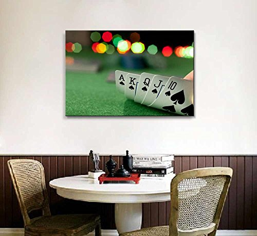 Casino Concept Playing Cards Poker Wall Decor